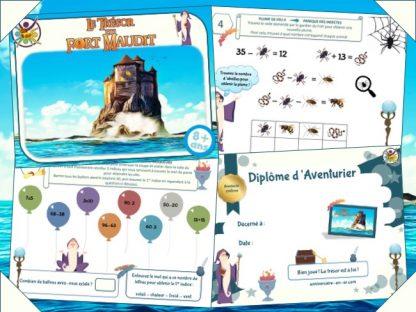 Chasse au trésor, jeu d'aventure style Fort Boyard