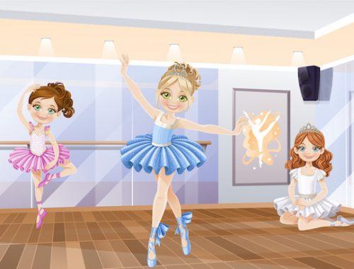Jeu de chasse au trésor à la danse pour enfants de 4 et 5 ans