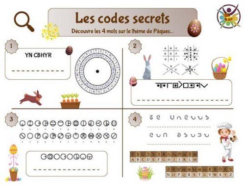 Codes secrets de Pâques