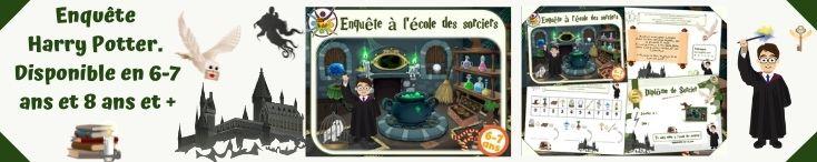 jeu anniversaire Harry Potter pour enfants