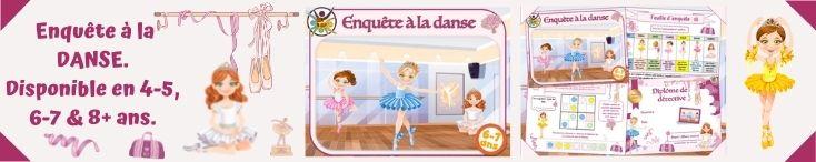 Enquête à la danse pour enfants