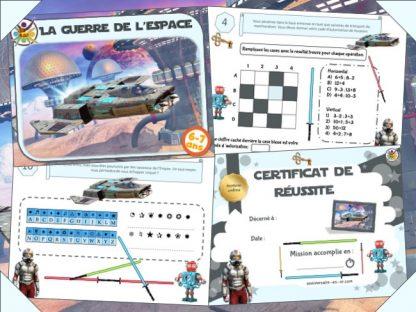 Kit d'escape game pour enfant Star Wars à imprimer