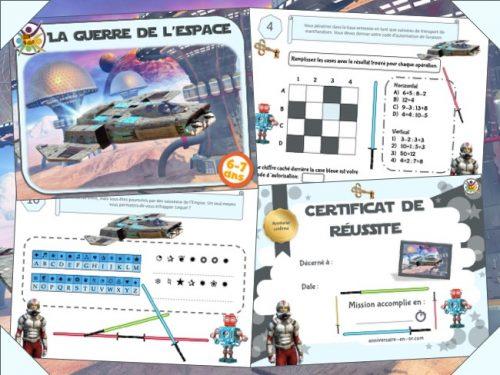 Escape games 6-7 ans