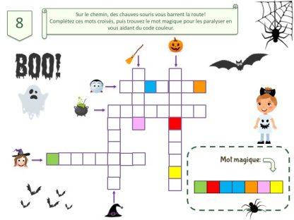 Idées de jeux et énigmes pour chasse au trésor Halloween
