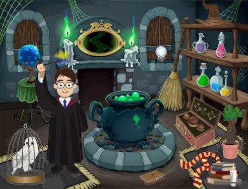 Kit jeu enquête anniversaire Harry Potter