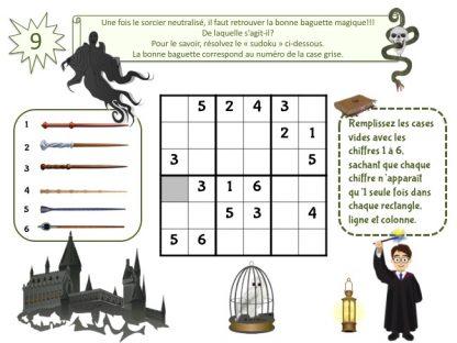 Kit d'enquête à imprimer inspiré de Harry Potter