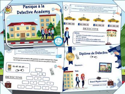 Kit de jeu d'enquête à la Detective Academy