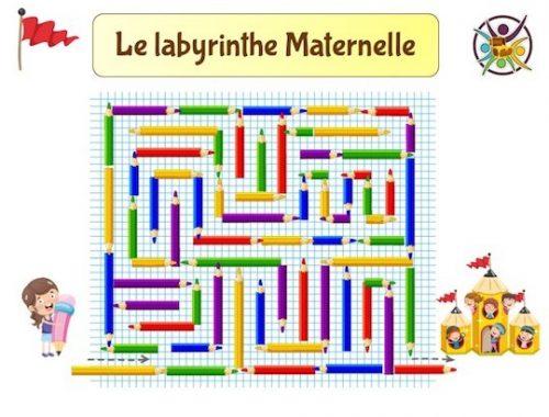 Labyrinthe maternelle