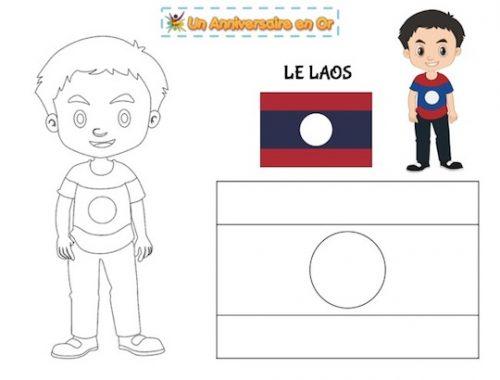 Coloriage Laos