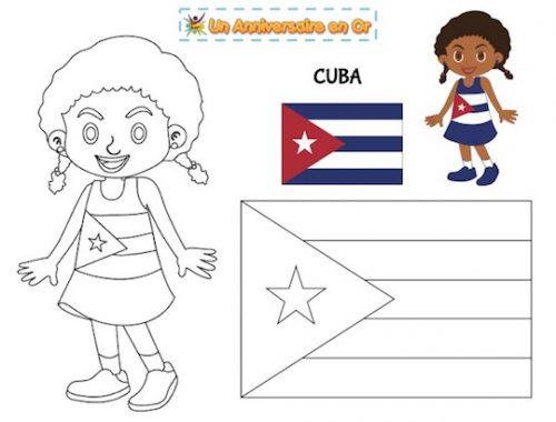 Coloriage Cuba