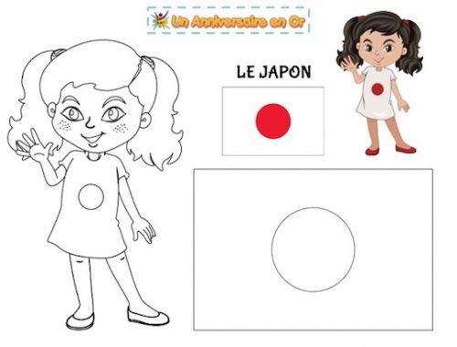 Coloriage Japon