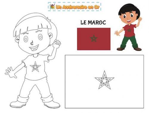 Coloriage Maroc