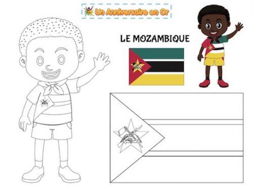 Coloriage Mozambique