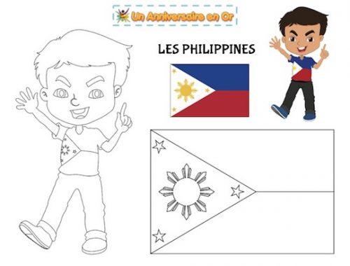 Coloriage des Philippines