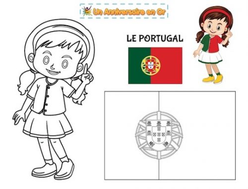 Coloriage Portugal