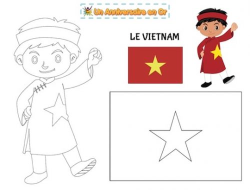 Coloriage Vietnam