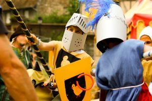 Idées de jeux pour anniversaire chevalier