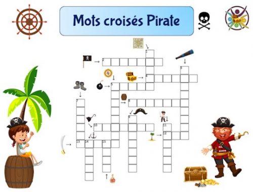 Mots croisés pirate