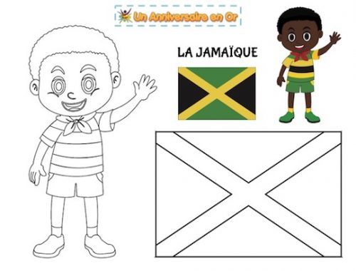 coloriage Jamaïque