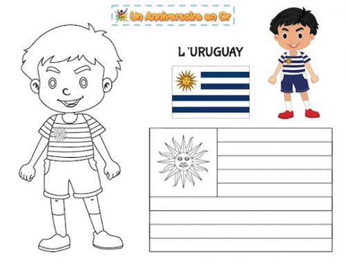 Coloriage Uruguay