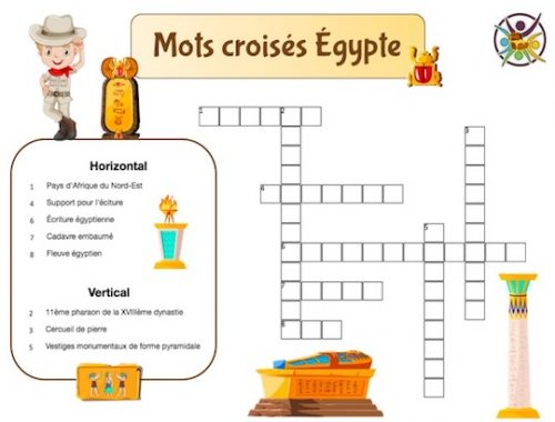 mots croisés Égypte