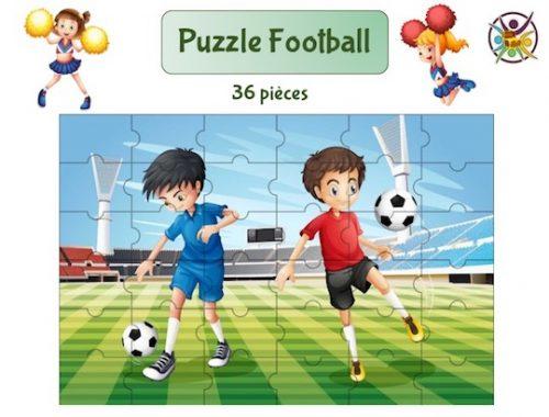 puzzle à imprimer football