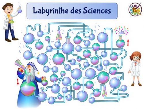 jeu labyrinthe des sciences