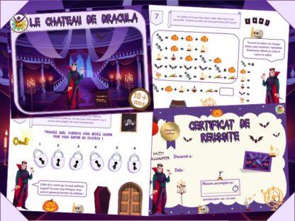 Kit escape game au château de Dracula