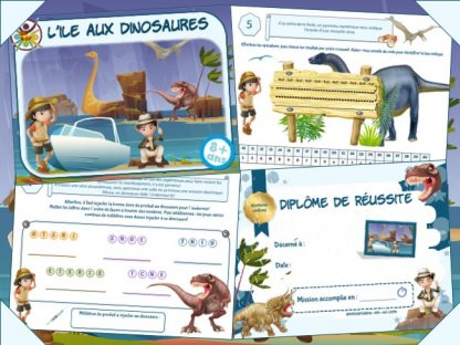 Kit escape game anniversaire Jurassic park