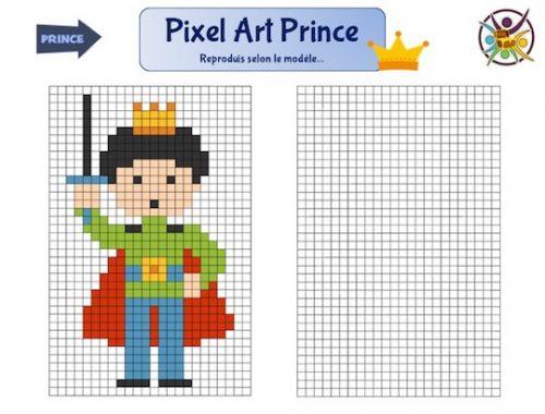 Pixel art Prince