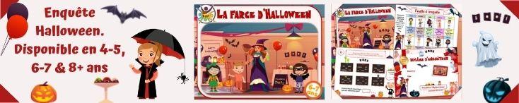 Jeu d'enquête, la farce d'Halloween