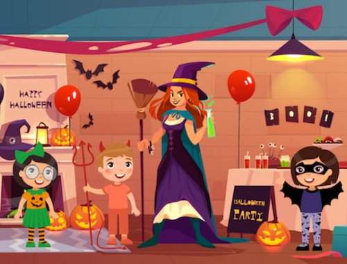 Enquête maternelle: la farce d' Halloween