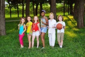 organiser des olympiades pour enfants